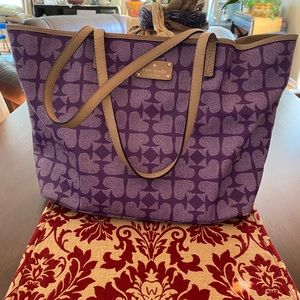 Purple Purse Kate Spade
